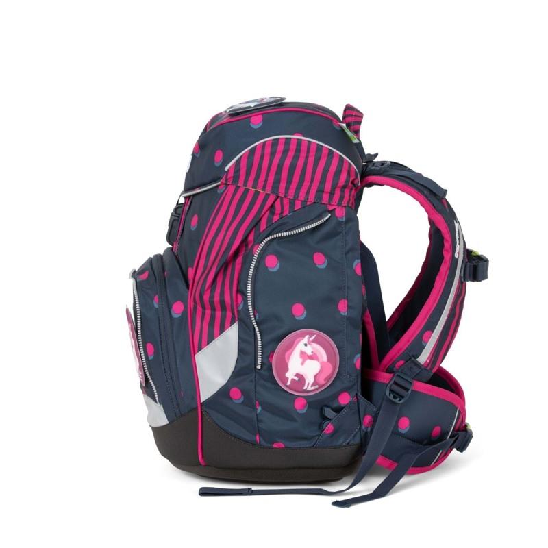 Ergobag Skoletaskesæt Pack Sort/pink 3
