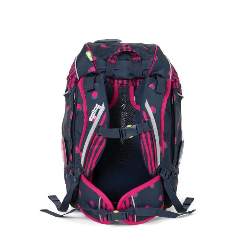 Ergobag Skoletaskesæt Pack Sort/pink 5