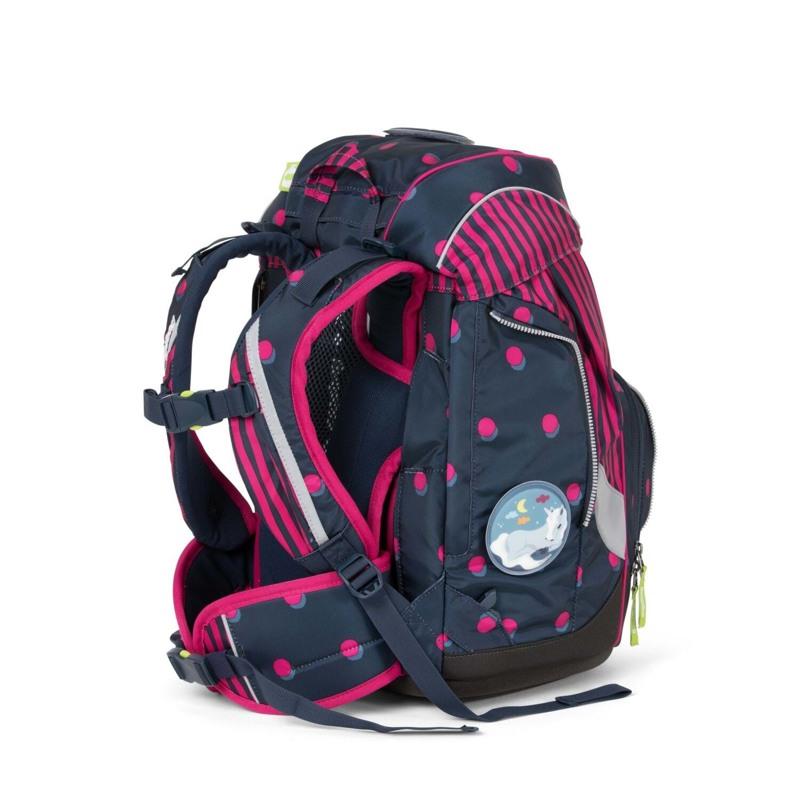 Ergobag Skoletaskesæt Pack Sort/pink 6