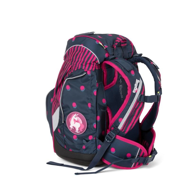 Ergobag Skoletaskesæt Pack Sort/pink 4