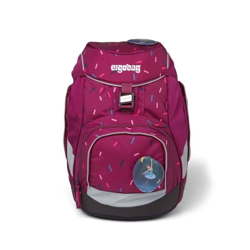 Ergobag Skoletaskesæt Pack Bordeaux m/prikker 2