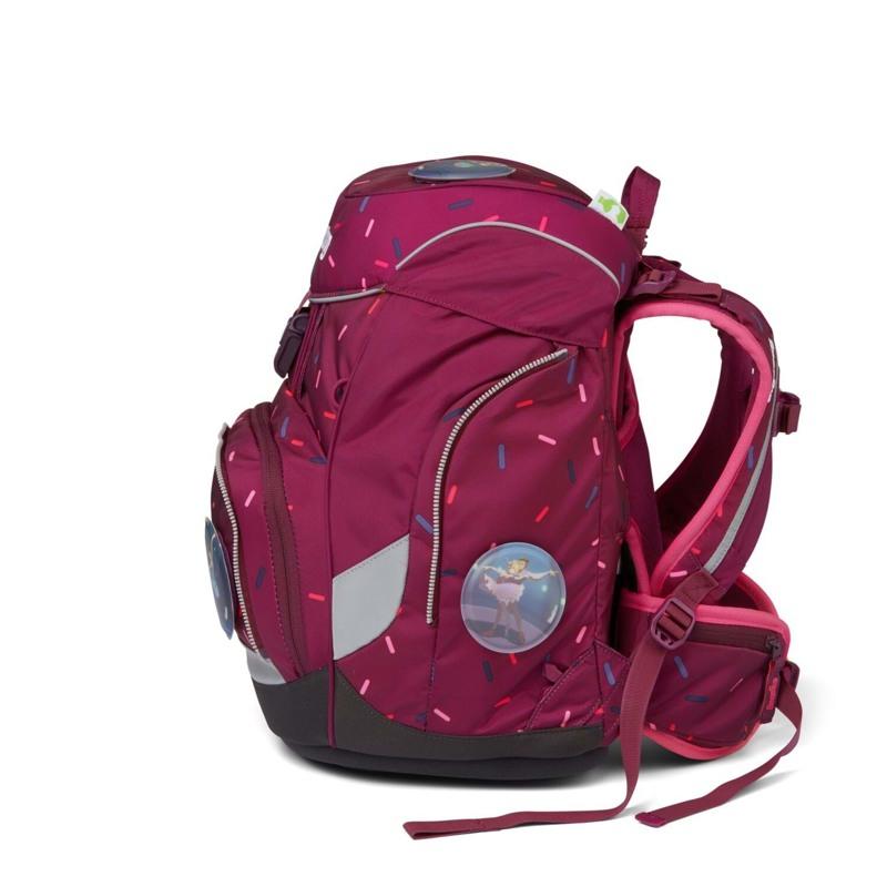 Ergobag Skoletaskesæt Pack Bordeaux m/prikker 3