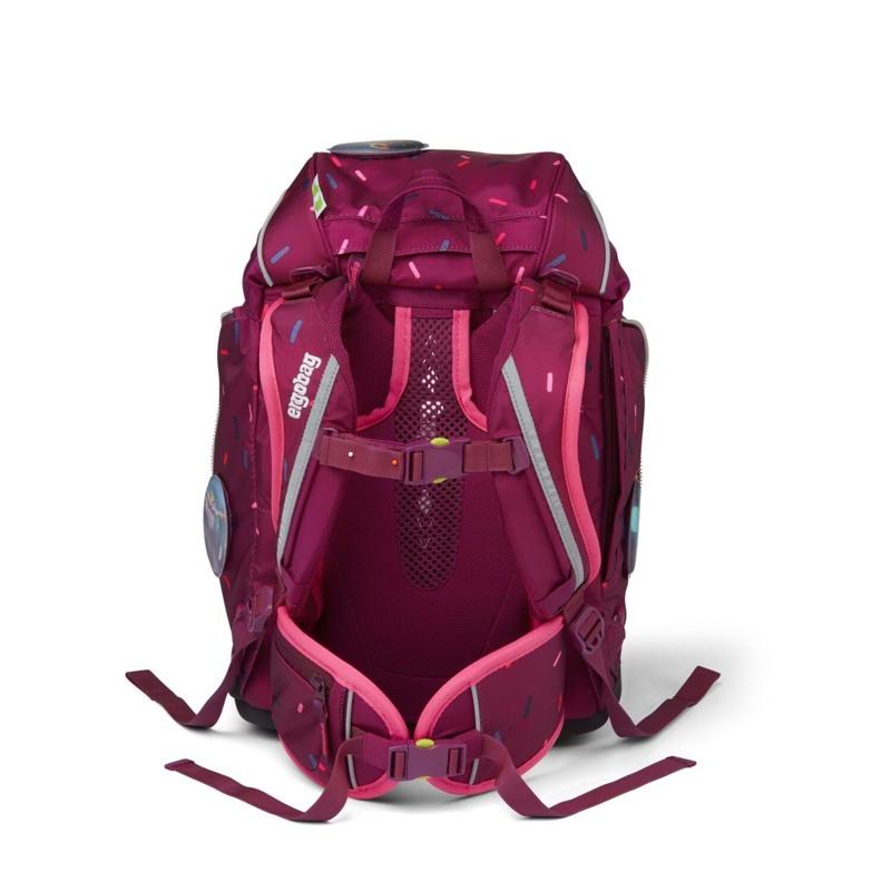 Ergobag Skoletaskesæt Pack Bordeaux m/prikker 5