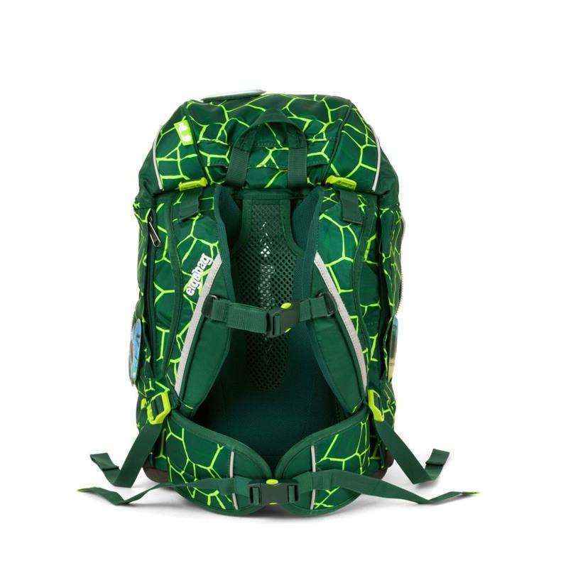 Ergobag Skoletaskesæt Pack Grøn/sort 4