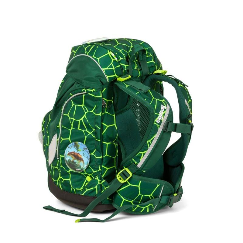 Ergobag Skoletaskesæt Pack Grøn/sort 5