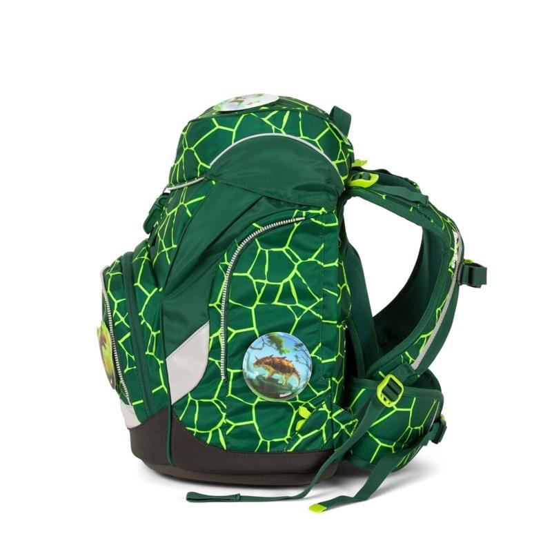 Ergobag Skoletaskesæt Pack Grøn/sort 6