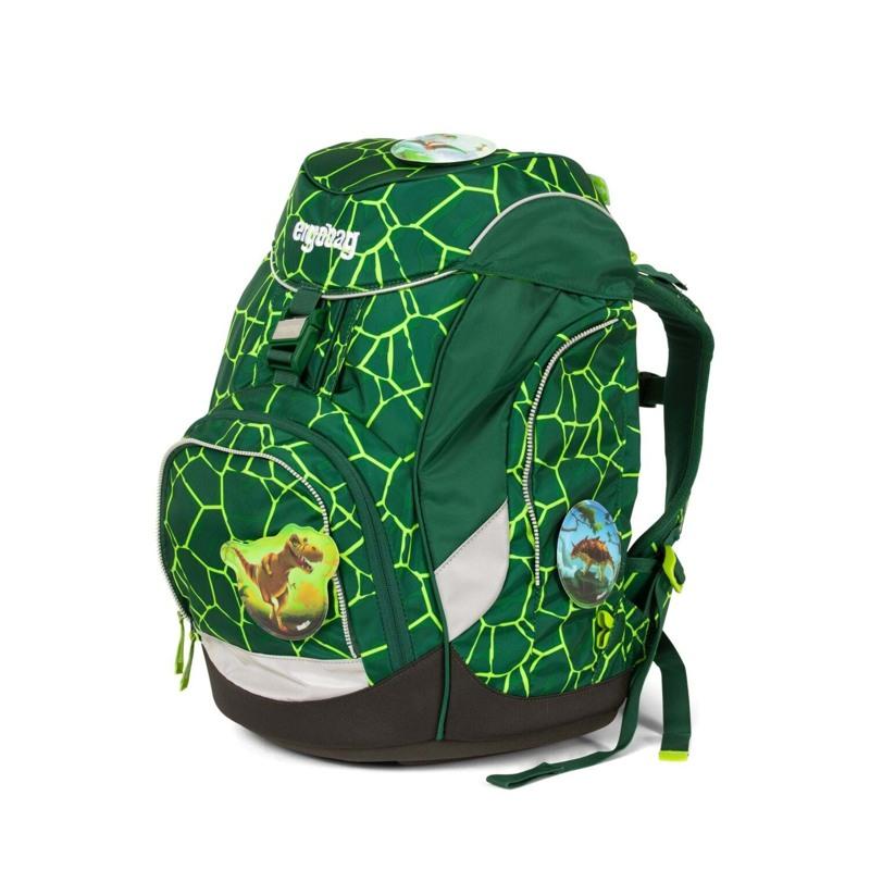 Ergobag Skoletaskesæt Pack Grøn/sort 7