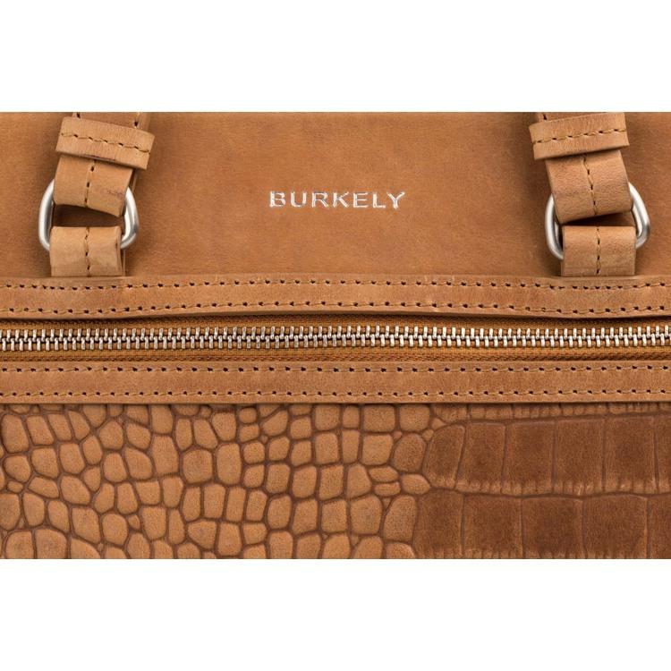 Burkely Håndtaske Croco Cody M Cognac 6