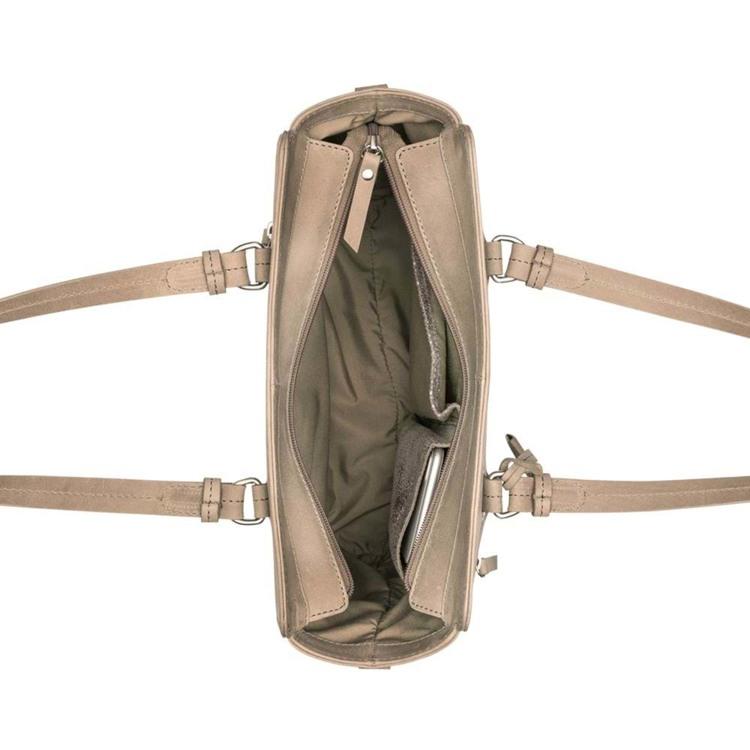 Burkely Håndtaske Croco Cody S Grå 3