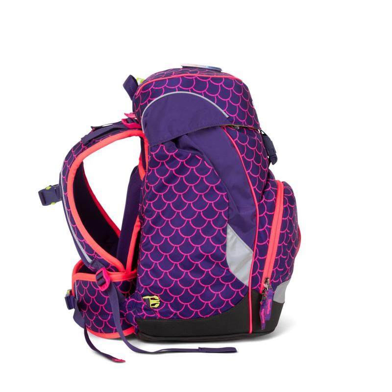 Ergobag Skoletaske Prime Lumi Edition Lilla/pink 3