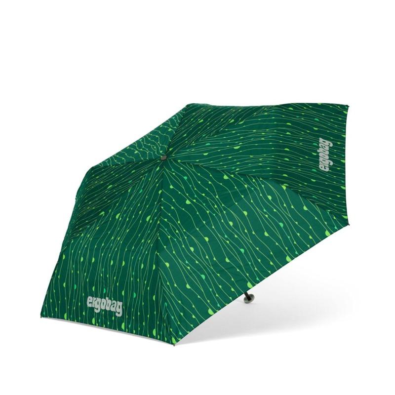 Ergobag Paraply Grøn mønster 1