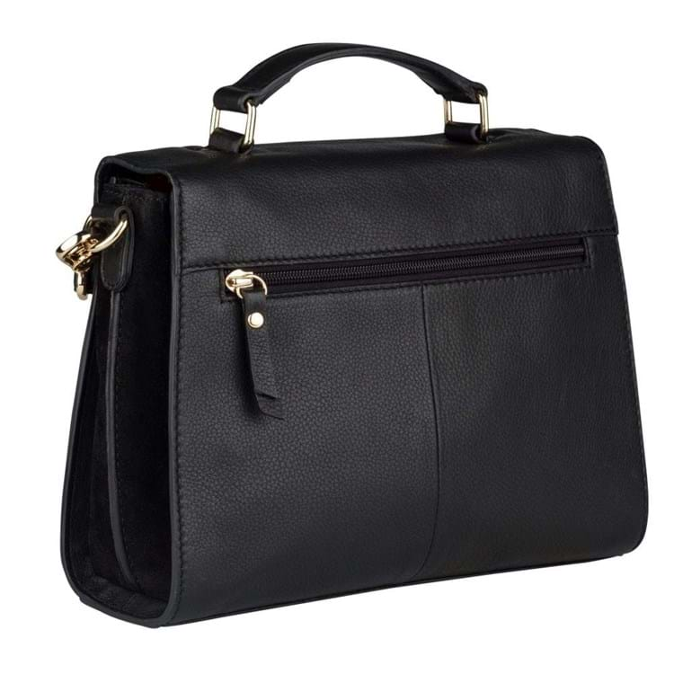 Burkely Taske Citybag Secret Sage Sort 4