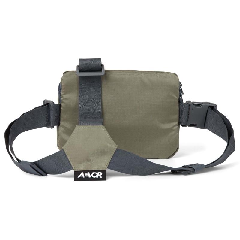 Aevor Bæltetaske Front Pack Grøn/grå 2