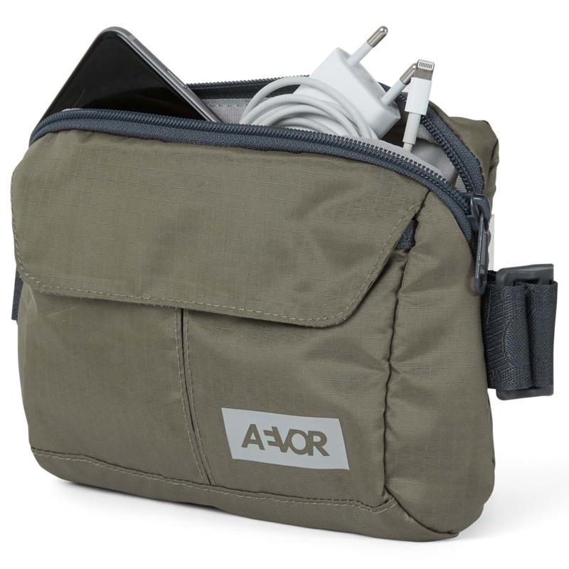 Aevor Bæltetaske Front Pack Grøn/grå 3