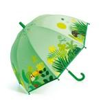 DJECO Børneparaply Tropical jungle Grøn