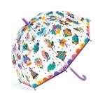 DJECO Børneparaply Pop rainbow Lilla