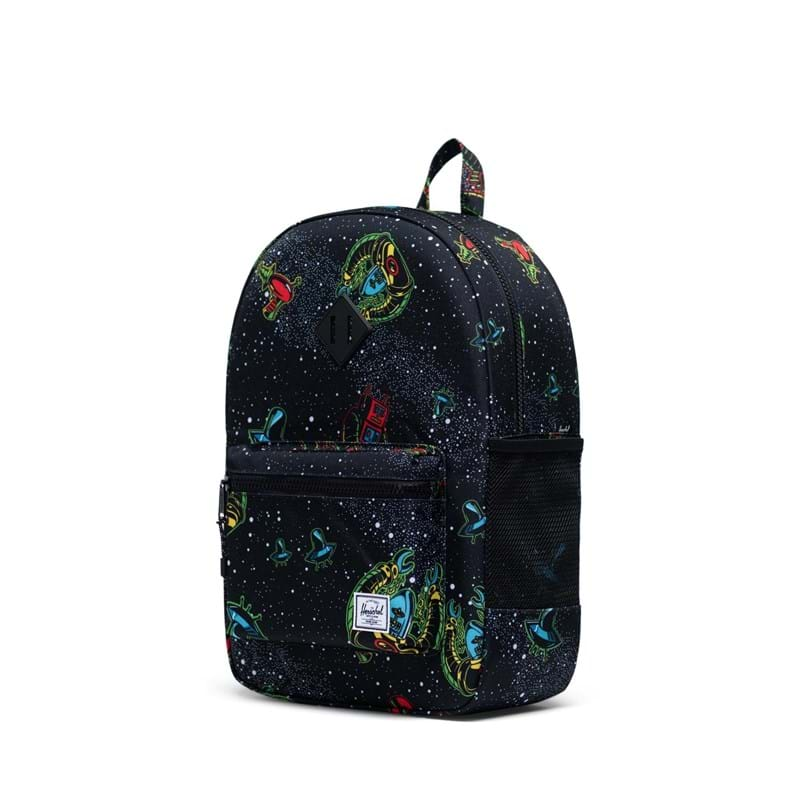 Herschel Rygsæk Heritage Youth XL Sort m/blå space 3