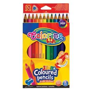 Colorino Blyanter trekantede Jumbo/12 Ass farver