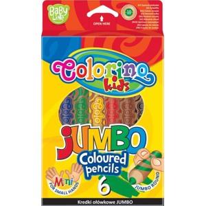 Colorino Blyanter runde Extra Jumbo /6 Ass farver