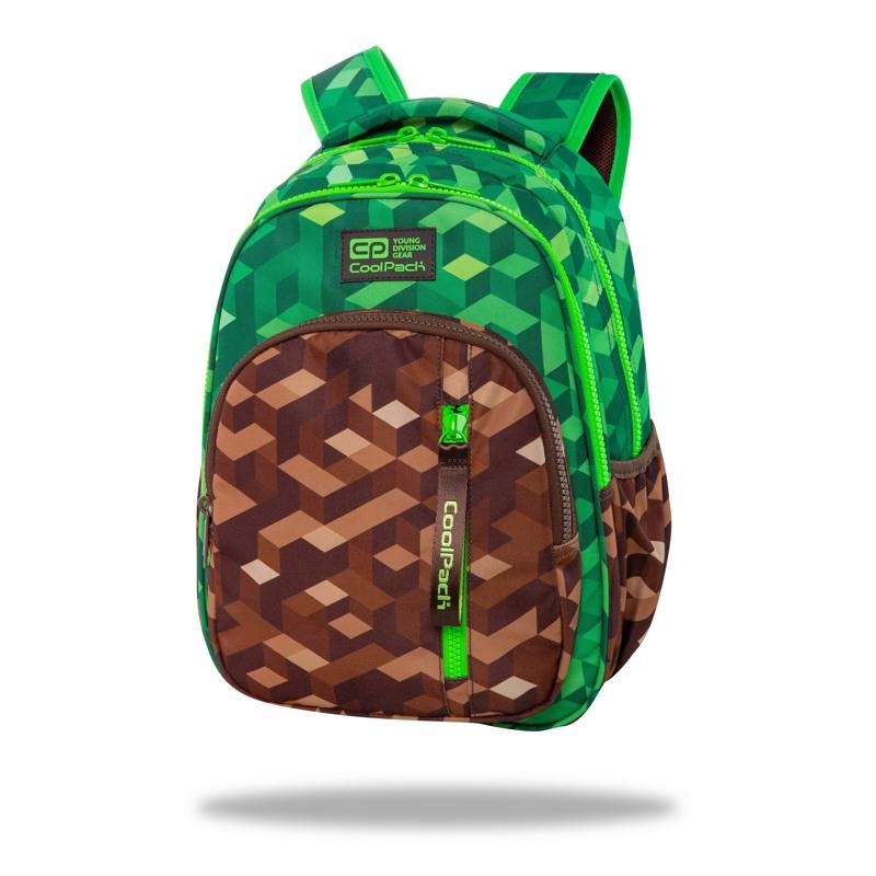 Coolpack Skoletaske Base City Jungle Grøn 1