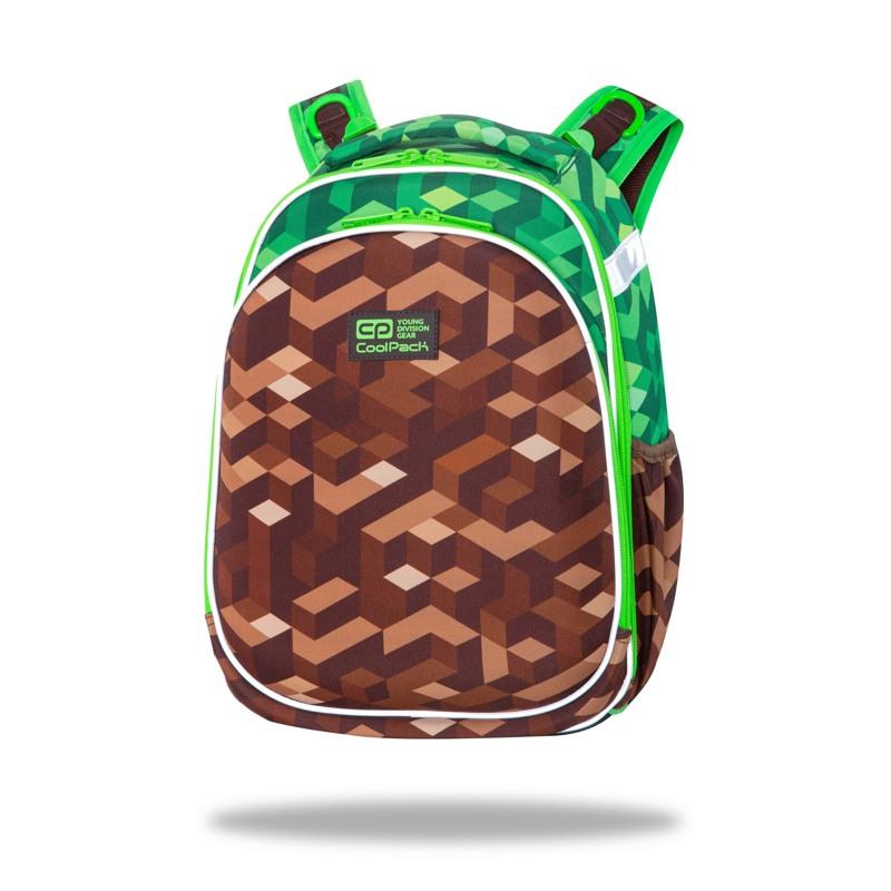 Coolpack Skoletaske Turtle City Jungle Grøn 1