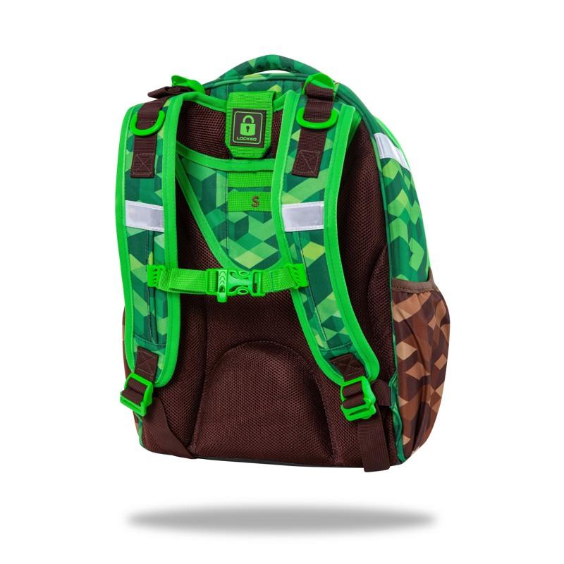 Coolpack Skoletaske Turtle City Jungle Grøn 3