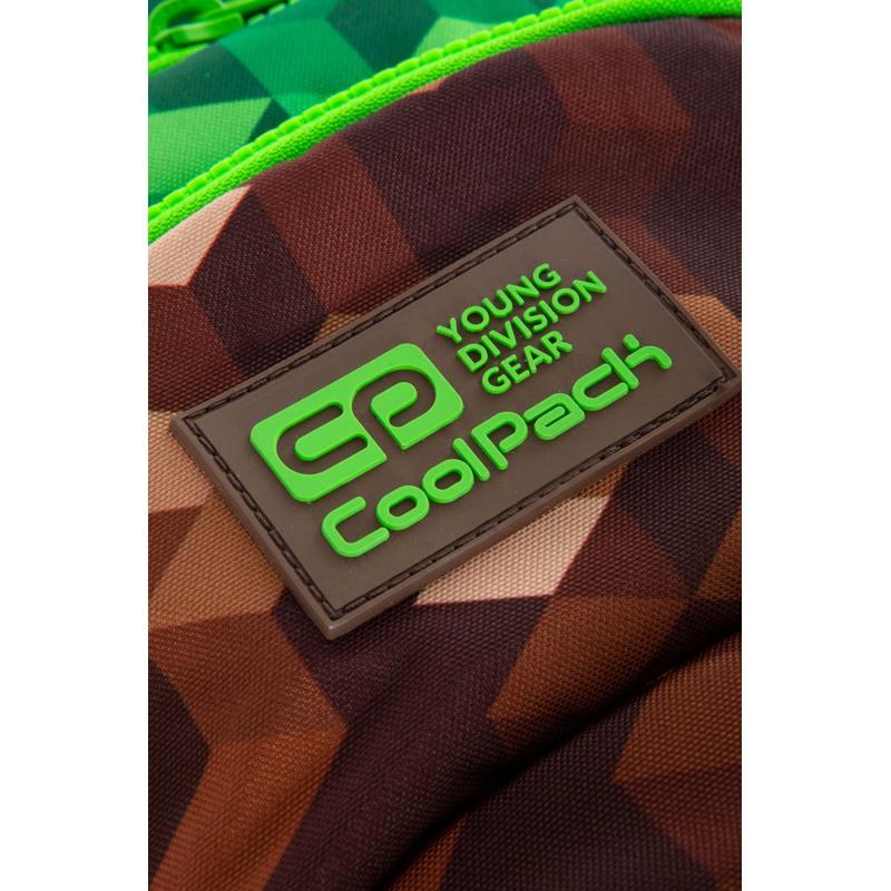 Coolpack Trolley Skoletaske Star City Grøn 5