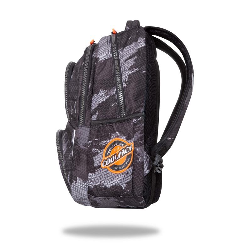 Coolpack Skoletaske Spinner Badges Sort 2