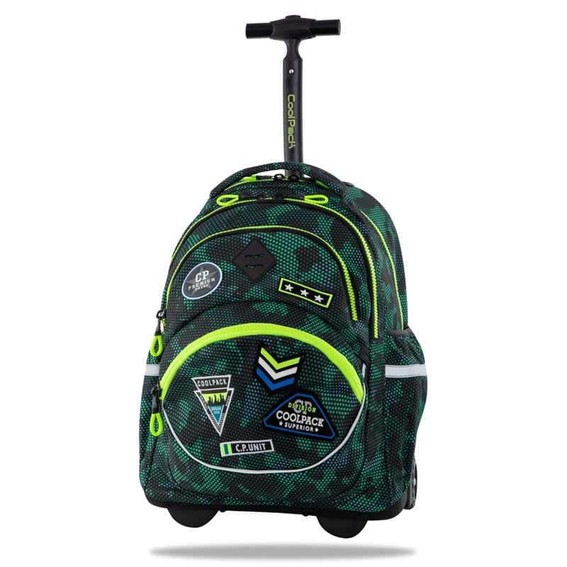 Coolpack Trolley Skoletaske Star Grøn 1
