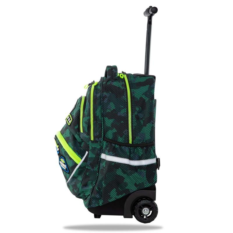 Coolpack Trolley Skoletaske Star Grøn 2