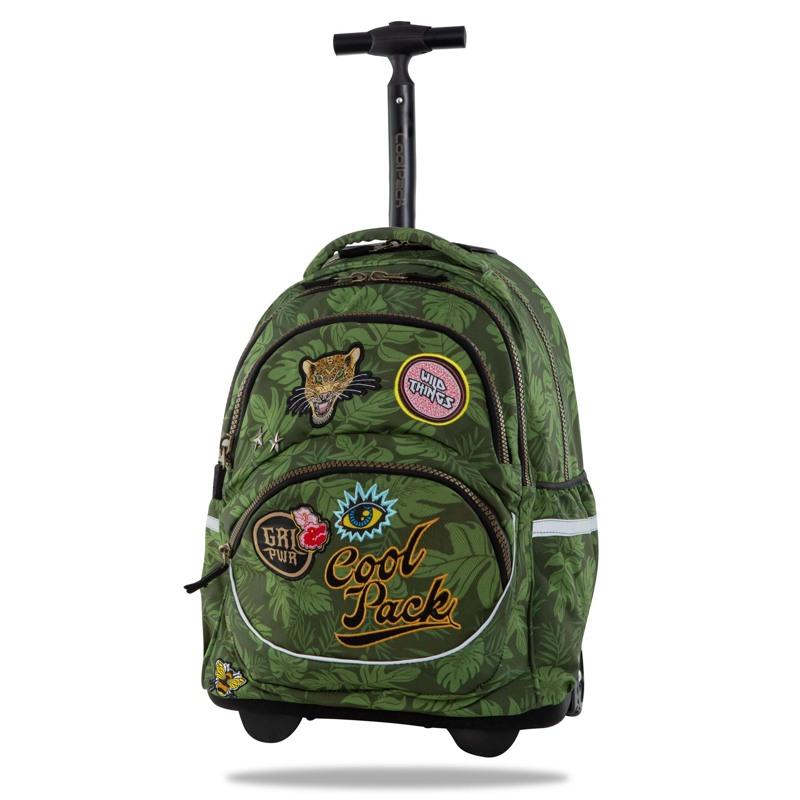 Coolpack Trolley skoletaske Starr Grøn 1