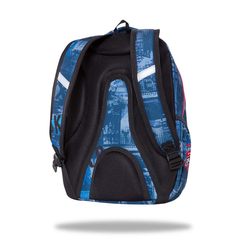 Coolpack Skoletaske Spinner Badges Blå 3