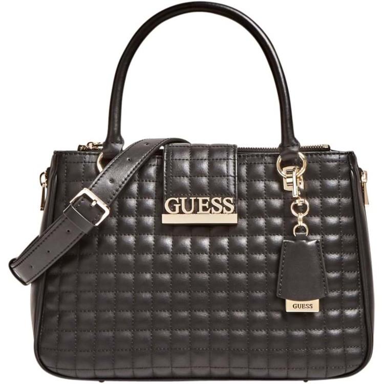 Guess Håndtaske Matrix Sort motiv 1