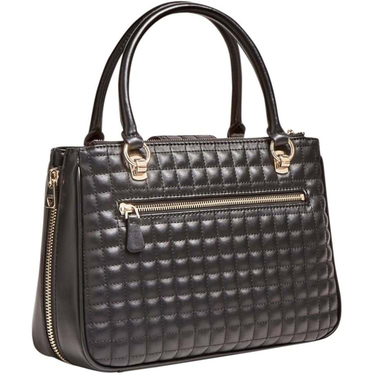 Guess Håndtaske Matrix Sort motiv 2