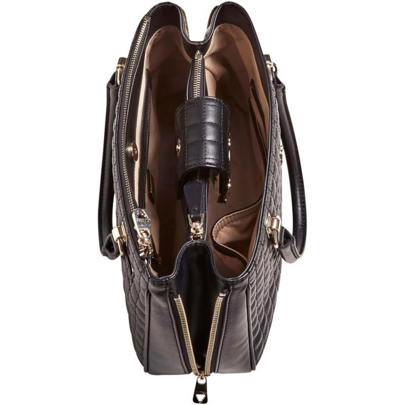 Guess Håndtaske Matrix Sort motiv 3