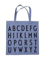 Design Letters Totebag Blå