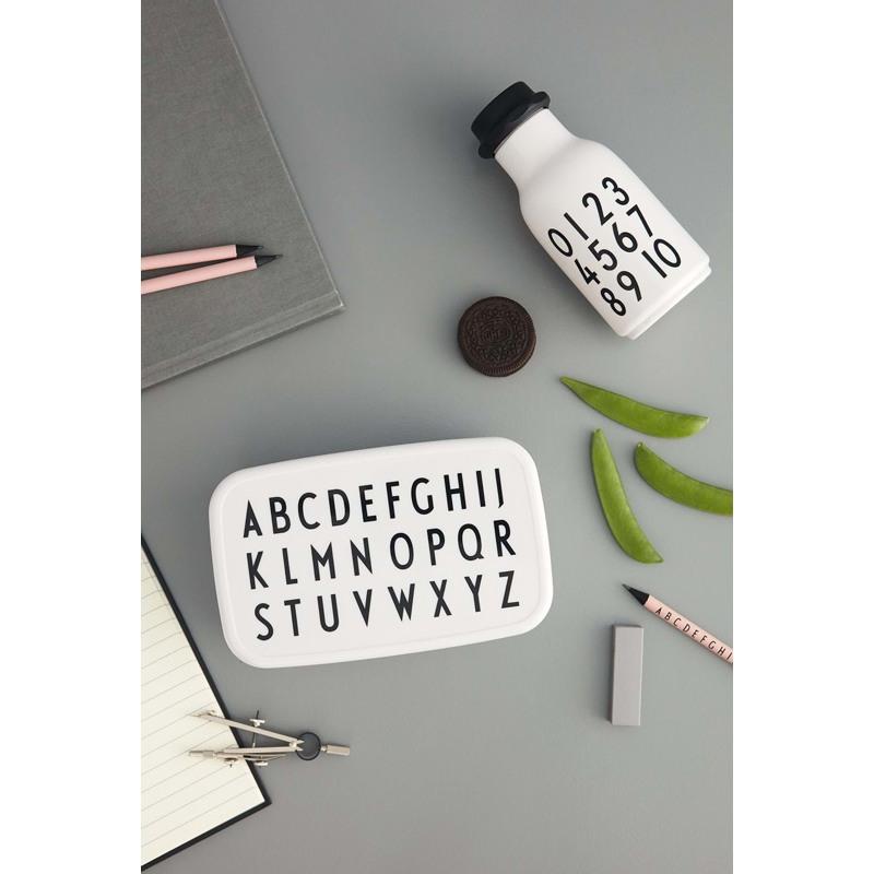 Design Letters Skolestart sæt Hvid 3