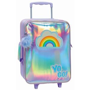 Yougo Børnekuffert Rainbow L Sølv alt image