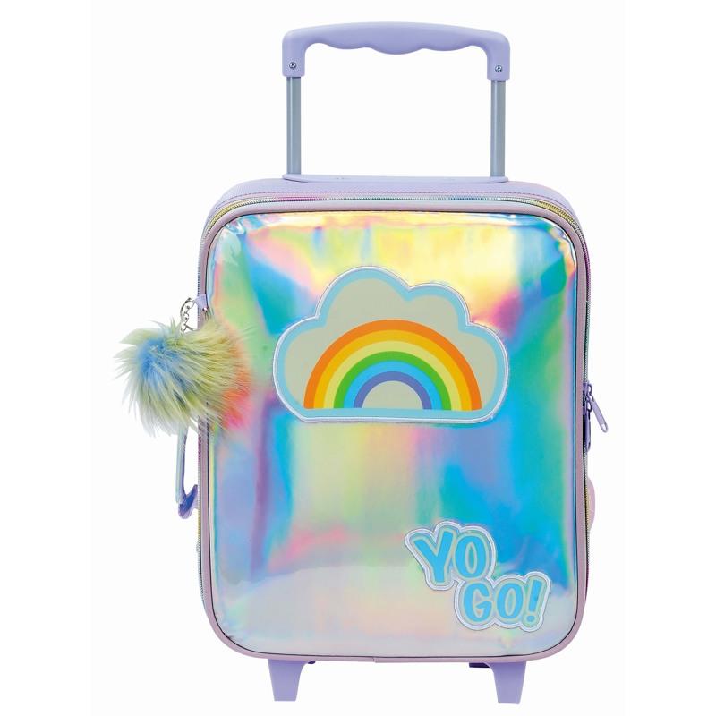 Yougo Børnekuffert Rainbow S Sølv 1