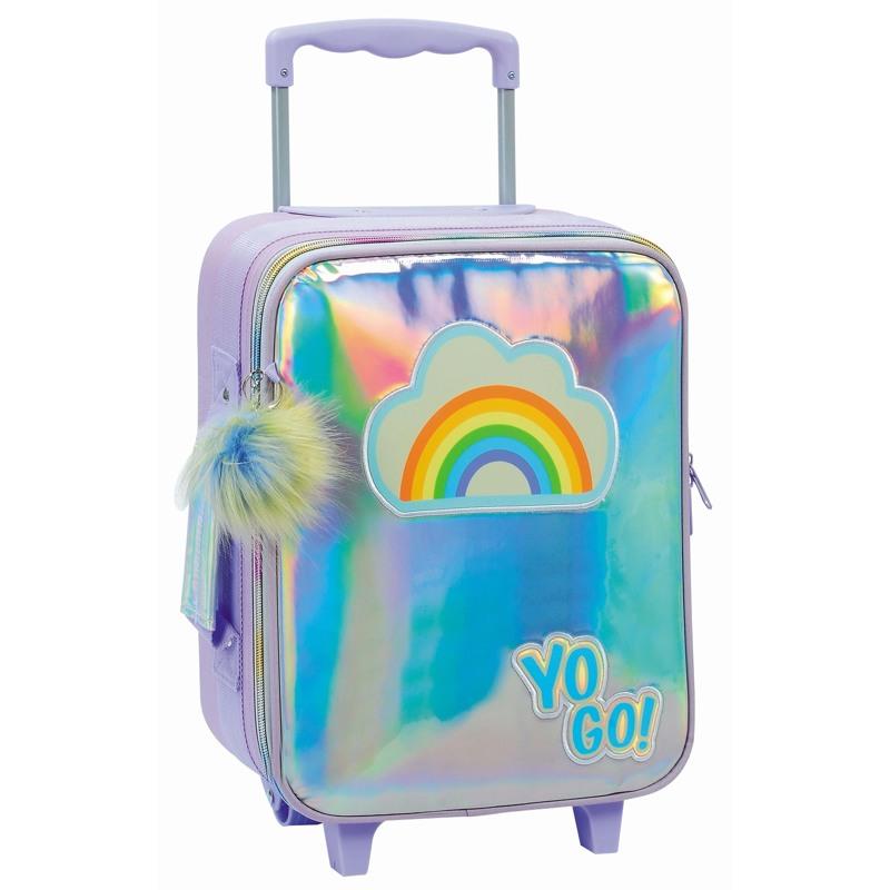 Yougo Børnekuffert Rainbow S Sølv 2