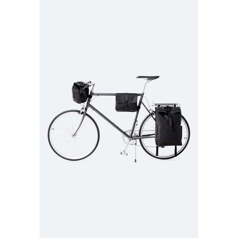 Rains Rygsæk Bike Pannier Rolltop Sort 6