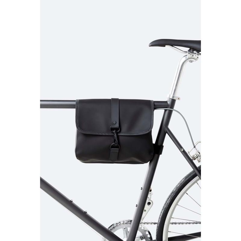 Rains Cykeltaske Bike Frame Bag Sort 5