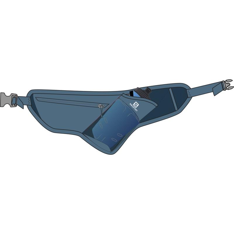 Salomon Væske bæltetaske Active Belt Blå/lyseblå 2