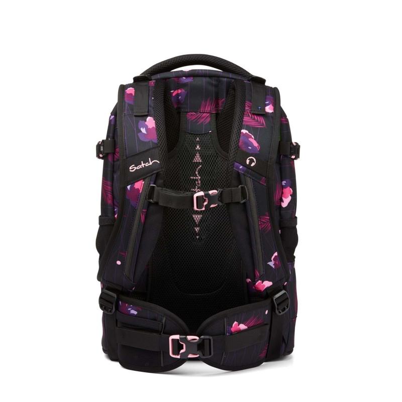 Satch Skoletaske Pack Sort M/Fjer 4