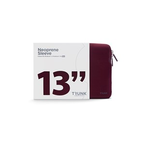 "Trunk Sleeve MacBook Pro 13"" Bordeaux alt image"