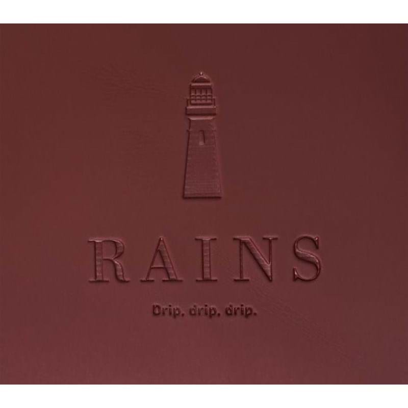 Rains Skuldertaske Jet Bag Bordeaux 3