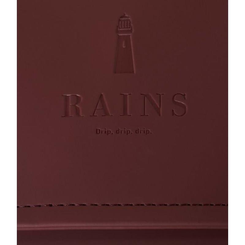 Rains Rygsæk Msn Bag Mini Bordeaux 4