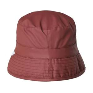 Rains Regnhat Bucket Hat Str S/M Rød