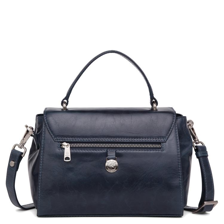 Adax Håndtaske Nora Salerno M. blå 2