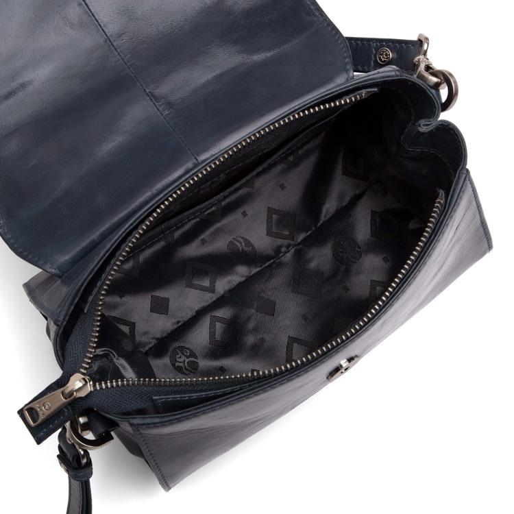 Adax Håndtaske Nora Salerno M. blå 3